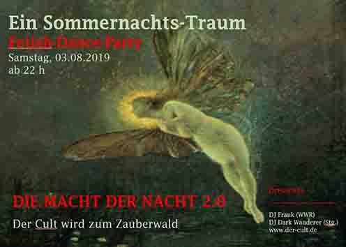 Sommernachtstraum Flyer quer